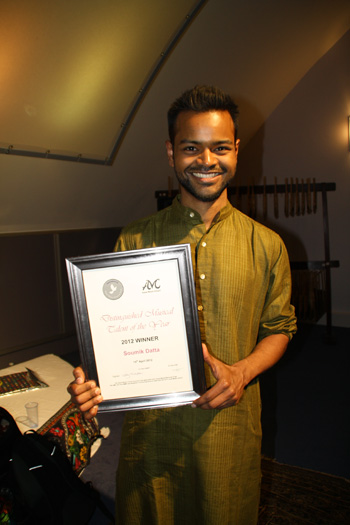 Musical Talent of the Year 2012 Winner Soumik Datta