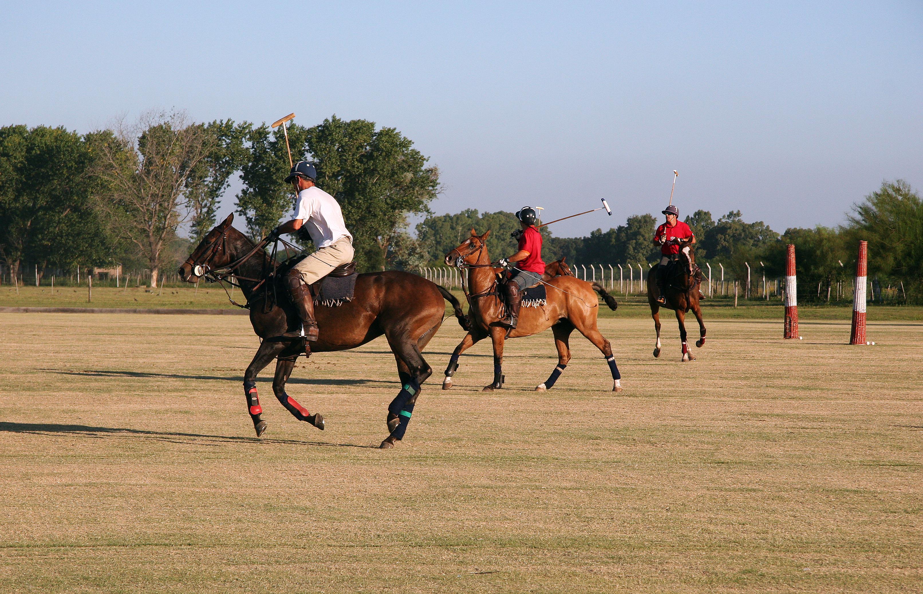 a Polo Game at Capilla