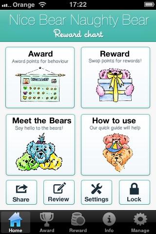 Christmas Naughty Or Nice Chart.New Iphone App Digital Reward Chart For Children Nice Bear