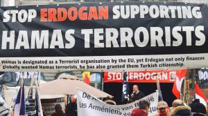 Erdogan finances and supports Islamist terrorist organisations such as ISIS and Hamas